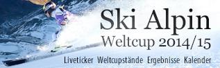 Ski Alpin Weltcup 2014/15